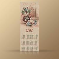 Календари из гобелена на 2020 год