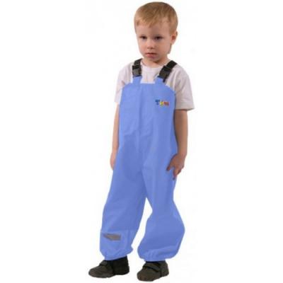 Полукомбинезон непромокаемый для детей голубой 86 размер