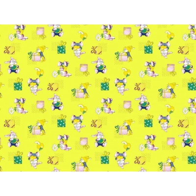 Братцы Кролики (желтый)