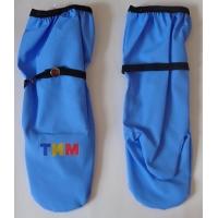 Рукавицы голубые непромокаемые 1-3 размер