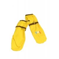 Рукавицы желтые непромокаемые 1-3 размер