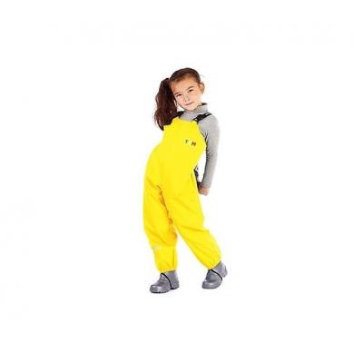 Полукомбинезон непромокаемый для детей желтый 86 размер